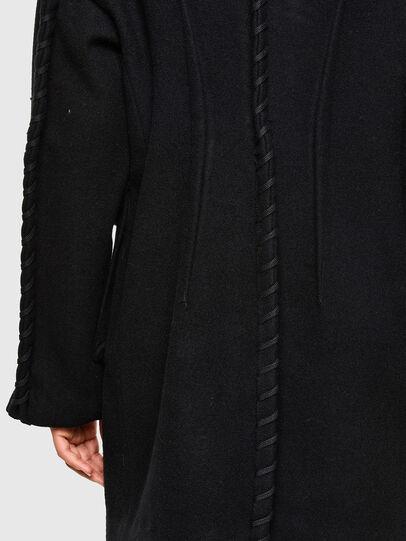 Diesel - W-LETHEA, Black - Winter Jackets - Image 5