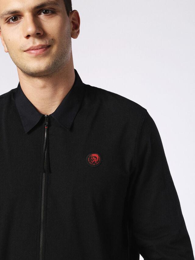 Diesel - DVL-SHIRT-MALE-RE, Black - Shirts - Image 5