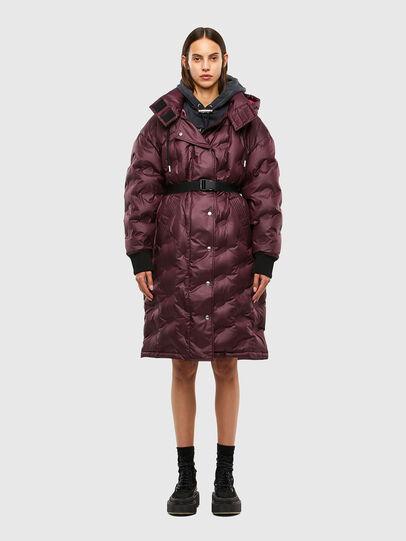 Diesel - W-LALLA, Violet - Winter Jackets - Image 1
