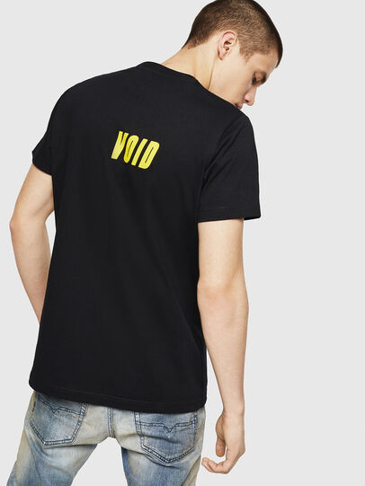 Diesel - T-DIEGO-A11, Black/Yellow - T-Shirts - Image 2