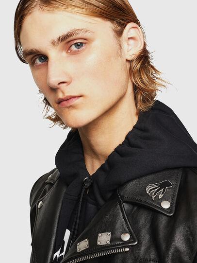 Diesel - L-PERF,  - Leather jackets - Image 3