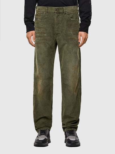 Diesel - D-Macs 069PT, Military Green - Jeans - Image 1