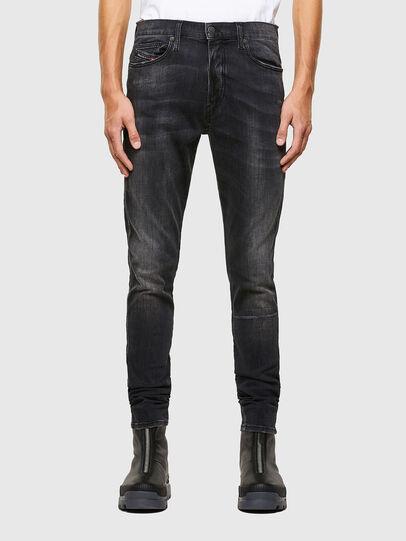 Diesel - D-Istort 069RL, Black/Dark grey - Jeans - Image 1