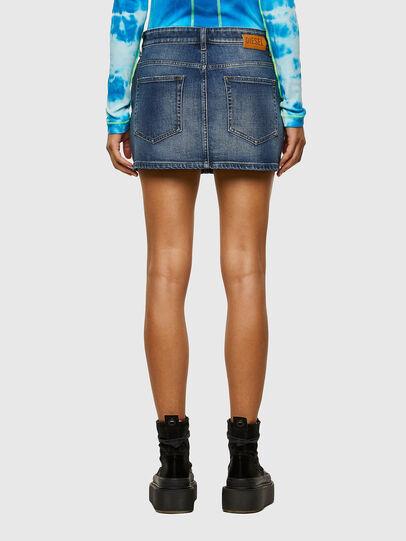 Diesel - DE-EISY, Dark Blue - Skirts - Image 2