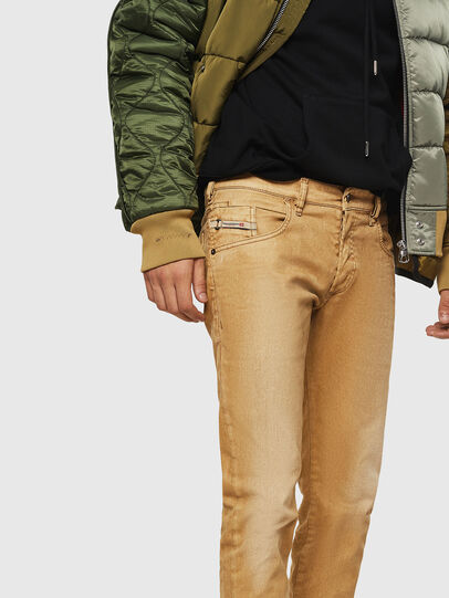 Diesel - D-Bazer 0091T, Light Brown - Jeans - Image 3