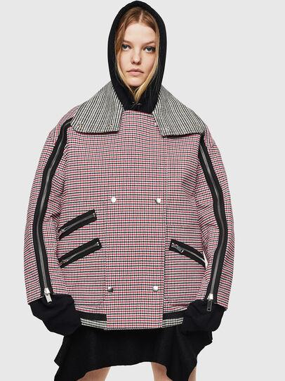 Diesel - G-KALIN, Pink/Black - Jackets - Image 1