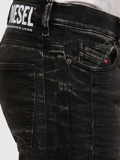 Diesel - D-REEFT JoggJeans® 009FY, Black/Dark grey - Jeans - Image 4