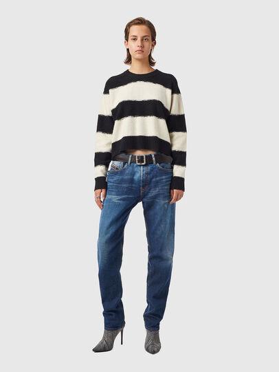 Diesel - M-VIRGINIA, Black/White - Knitwear - Image 4