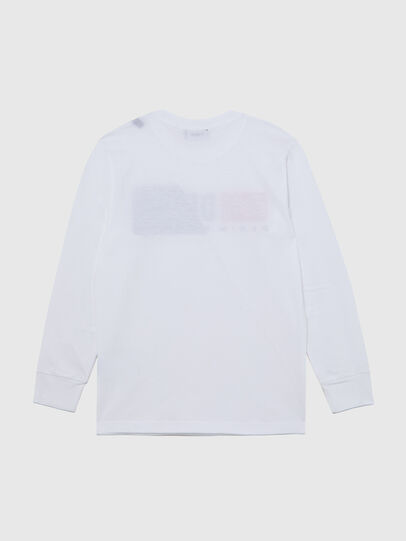 Diesel - TDIEGOCUTY ML, White - T-shirts and Tops - Image 2