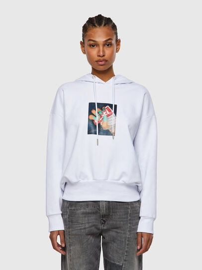 Diesel - F-MAGDALENA-R1, White - Sweaters - Image 1