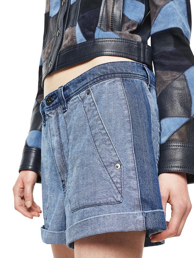 Diesel - SHANTELLE, Blue Jeans - Shorts - Image 5