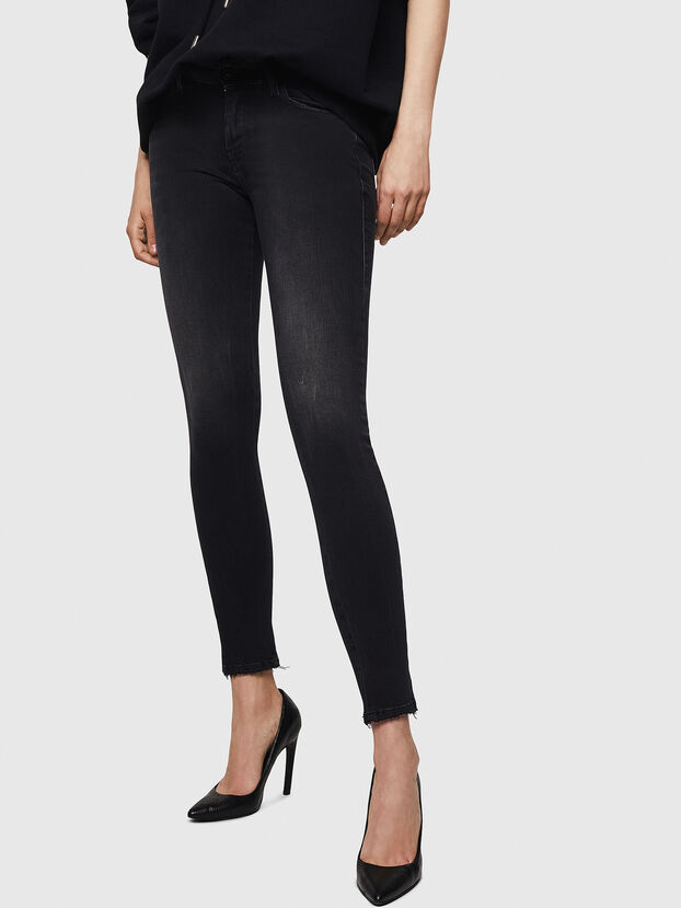 Slandy 069BU, Black/Dark grey - Jeans