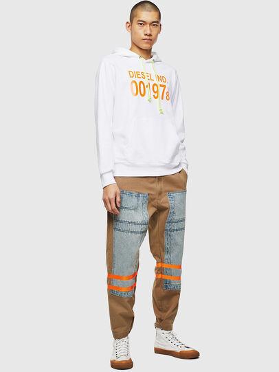 Diesel - S-GIRK-HOOD, White - Sweaters - Image 4