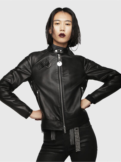 Diesel - L-SUZ,  - Leather jackets - Image 1