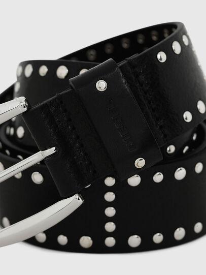 Diesel - B-ALPAGO, Black - Belts - Image 2