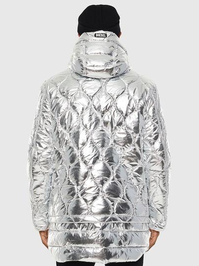 Diesel - W-CRAWFORD, Silver - Winter Jackets - Image 3