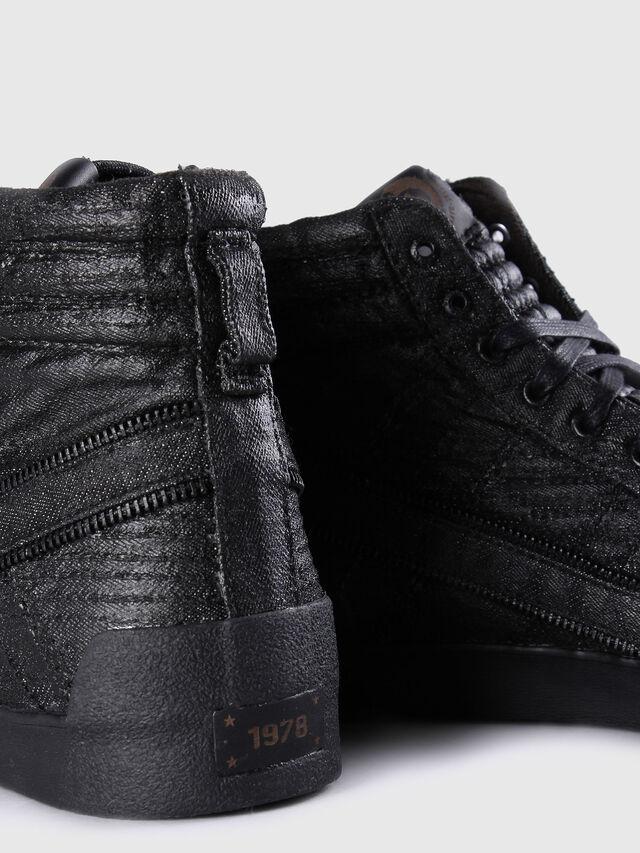 Diesel - D-STRING PLUS, Black Leather - Sneakers - Image 6