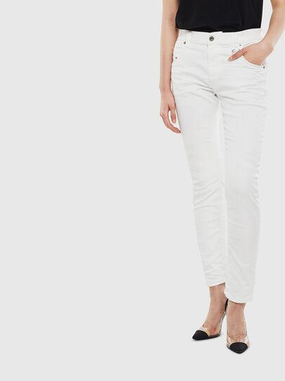 Diesel - Krailey JoggJeans 069DS, White - Jeans - Image 1