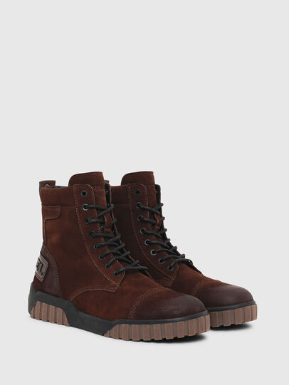 Diesel - H-RUA AM, Brown - Sneakers - Image 2