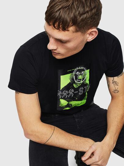 Diesel - T-DIEGO-J1, Black - T-Shirts - Image 4