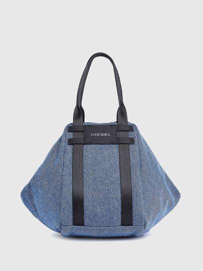 Diesel - CAGE SHOPPER XS, Blue Jeans - Bags - Image 1