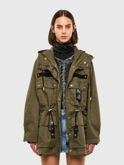 Diesel - G-URIBE, Military Green - Jackets - Image 6