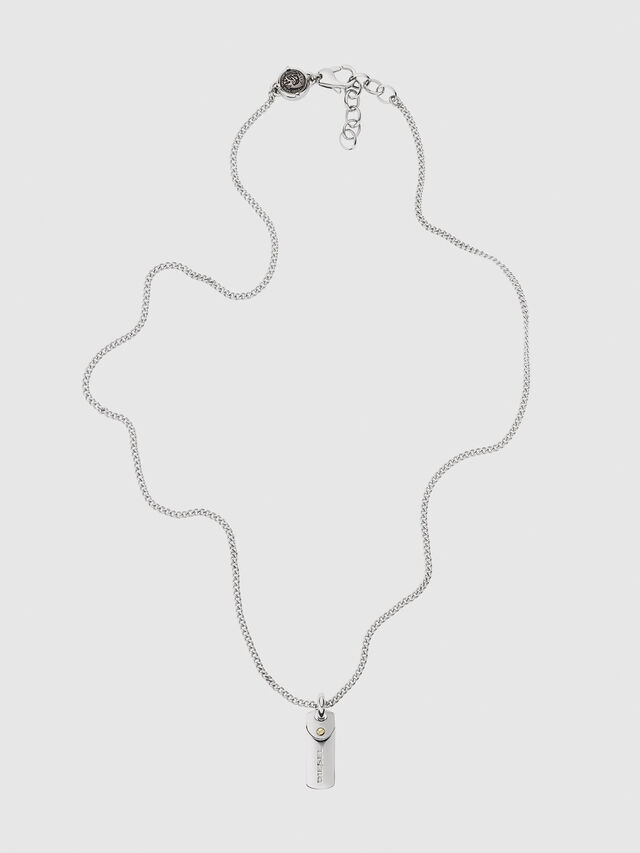 Diesel DX1116, Silver - Necklaces - Image 1