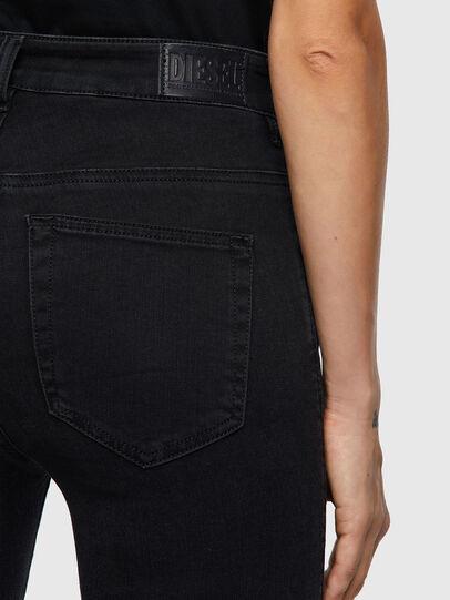 Diesel - Slandy High 069VW, Black/Dark grey - Jeans - Image 4