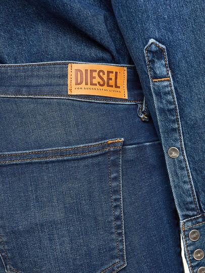Diesel - D-Jevel 009HL, Dark Blue - Jeans - Image 5