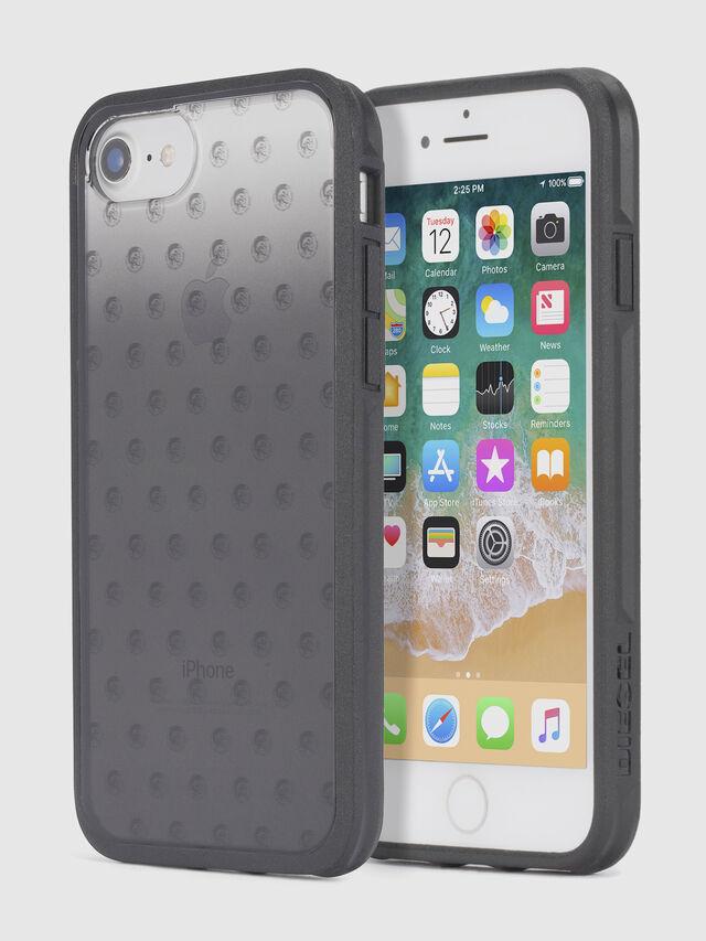 Diesel - MOHICAN HEAD DOTS BLACK IPHONE 8 PLUS/7 PLUS/6s PLUS/6 PLUS CASE, Black - Cases - Image 1