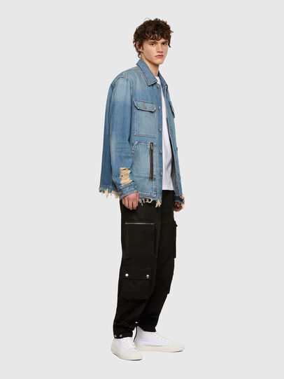 Diesel - D-SERLE, Medium blue - Denim Jackets - Image 6