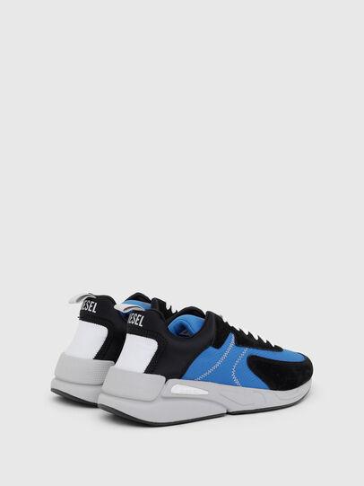 Diesel - S-SERENDIPITY LOW CU, Black/Blue - Sneakers - Image 3