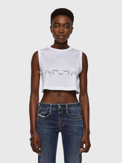 Diesel - T-WELL, White - T-Shirts - Image 1