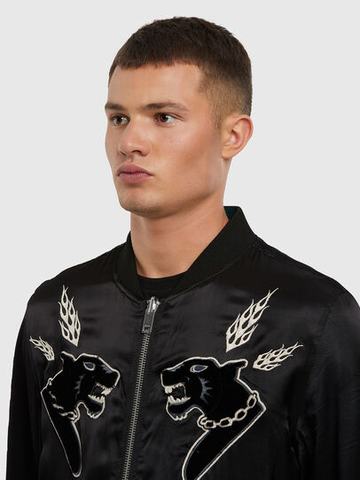 Diesel - J-SMOAK-EMBRO, Black - Jackets - Image 3