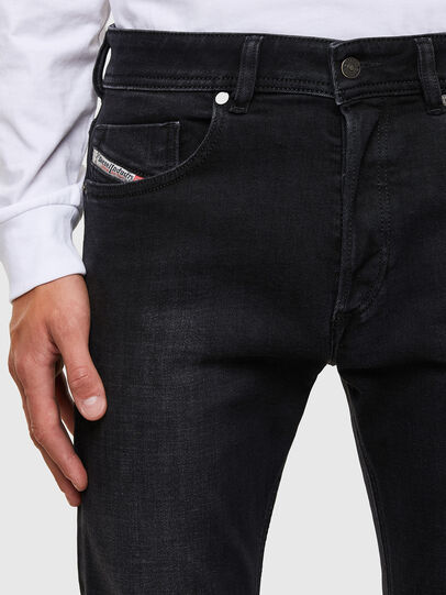 Diesel - Sleenker 009DH, Black/Dark grey - Jeans - Image 3