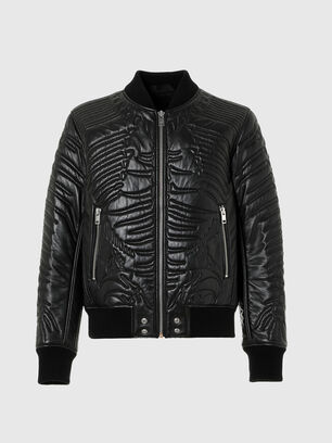 L-FUTURE, Black - Leather jackets