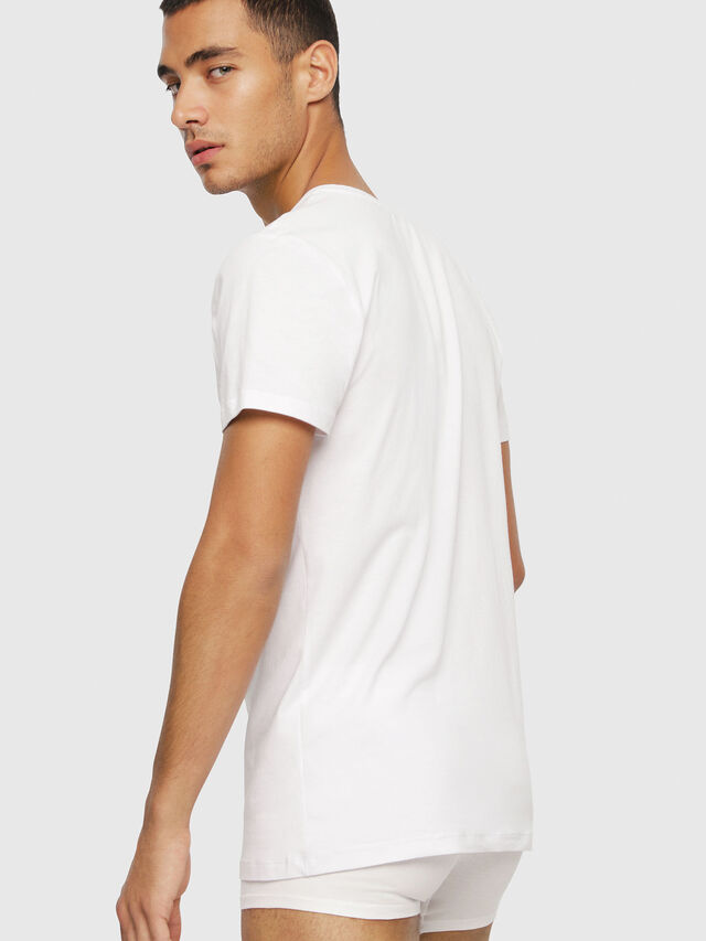 Diesel - UMTEE-MICHAEL3PACK, White - Tops - Image 3