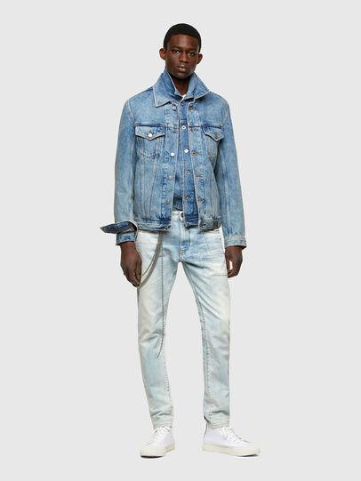 Diesel - D-Strukt 009TN, Light Blue - Jeans - Image 6