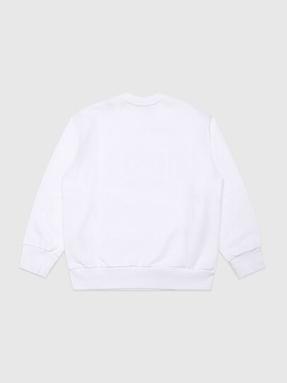 Diesel - SCREWDIVISION-LOGOX, White - Sweaters - Image 2