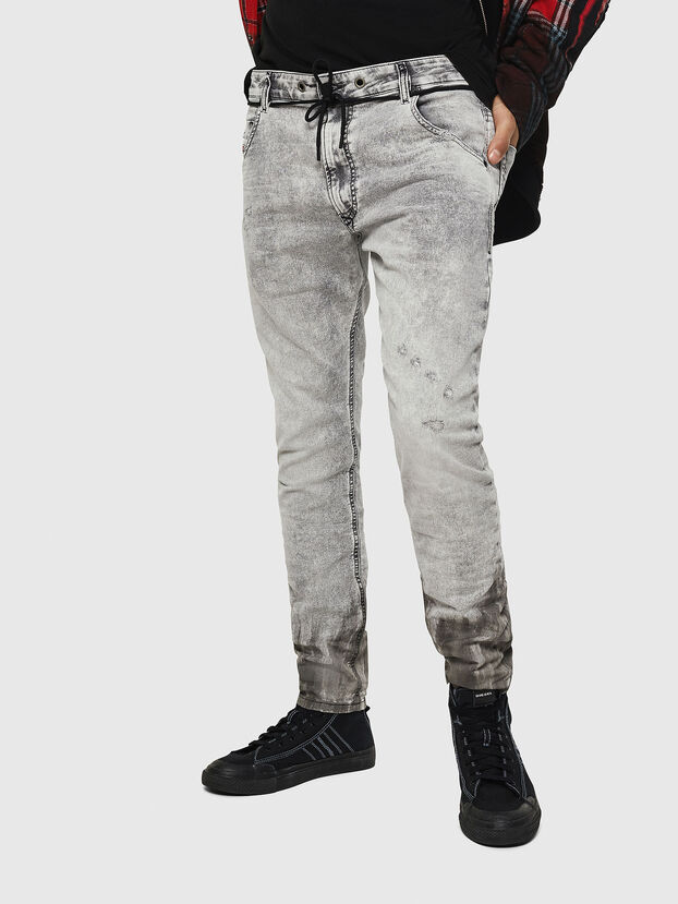 Krooley JoggJeans 0091H, Light Grey - Jeans