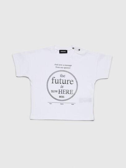 Diesel - TARTIB, White - T-shirts and Tops - Image 1