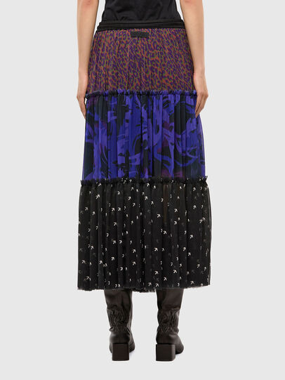 Diesel - O-ILARY, Blue/Black - Skirts - Image 2