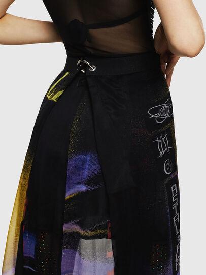 Diesel - O-POPLIA, Black - Skirts - Image 6