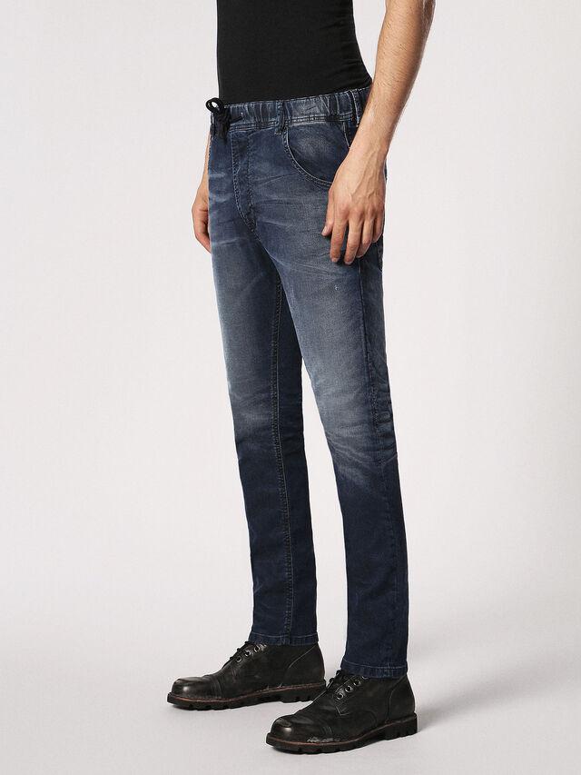 Diesel - Krooley JoggJeans 0683Y, Dark Blue - Jeans - Image 7