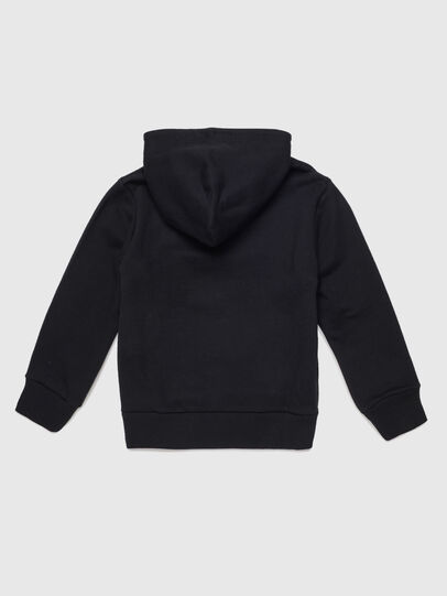 Diesel - SGIRKHOODJ1 OVER, Black - Sweaters - Image 2
