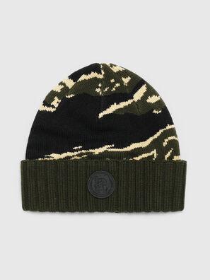 K-MASK, Green/Black - Knit caps