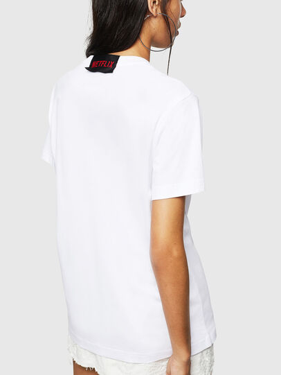Diesel - LCP-T-DIEGO-BOGOTA, White - T-Shirts - Image 4