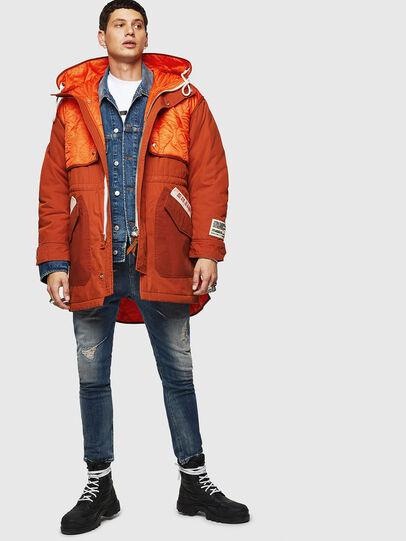 Diesel - W-KOVIK, Orange - Winter Jackets - Image 8
