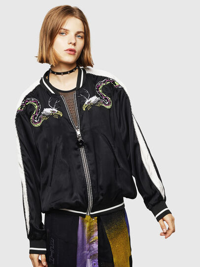 Diesel - G-IOIO-A, Black - Jackets - Image 1