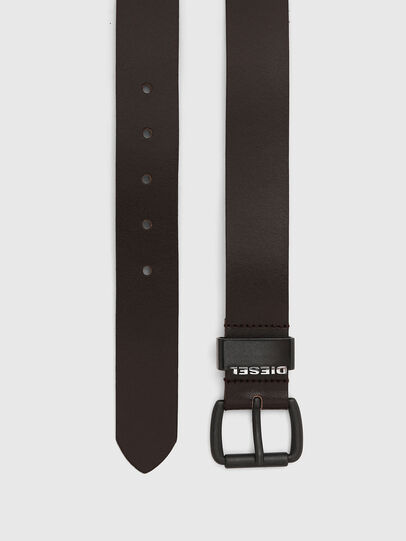 Diesel - B-ZANO, Dark Brown - Belts - Image 3